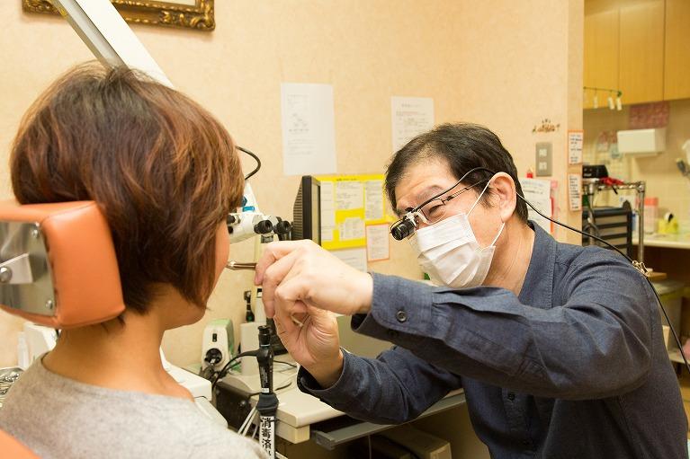鼻中隔弯曲症の検査
