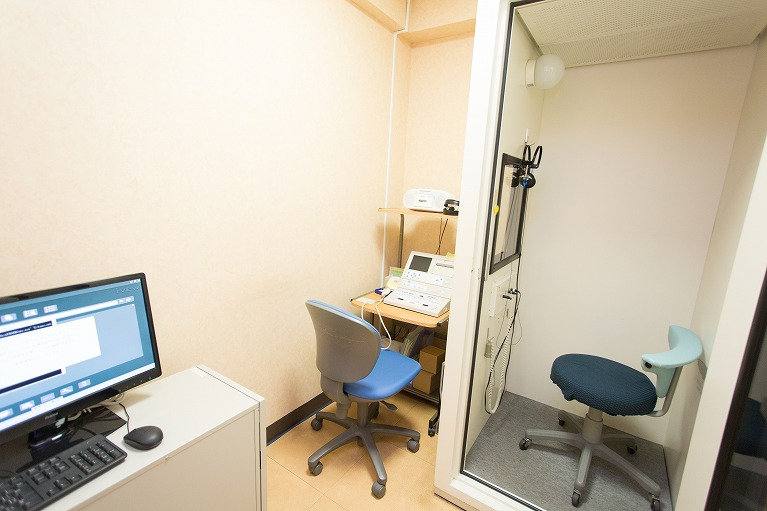 滲出性中耳炎の検査