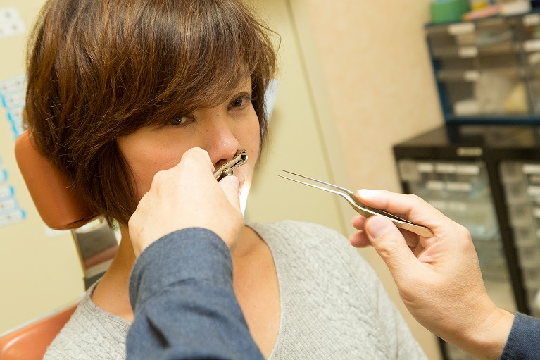 副鼻腔炎(蓄膿症)の検査