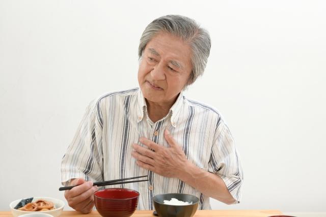 高齢者と嚥下障害