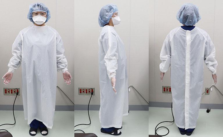 手術時の個人用防護具(PPE)着用による新型コロナウイルス感染対策