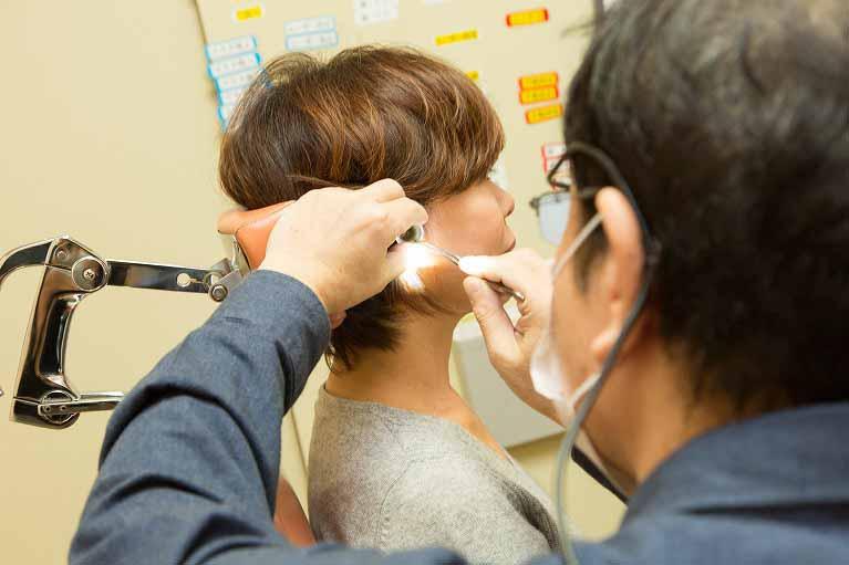 耳鼻科耳掃除
